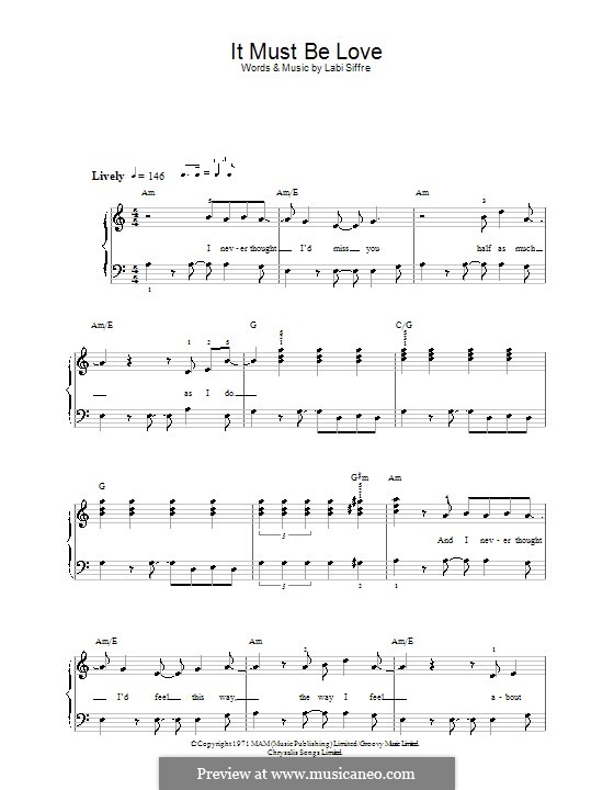 this must be the place sheet music pdf