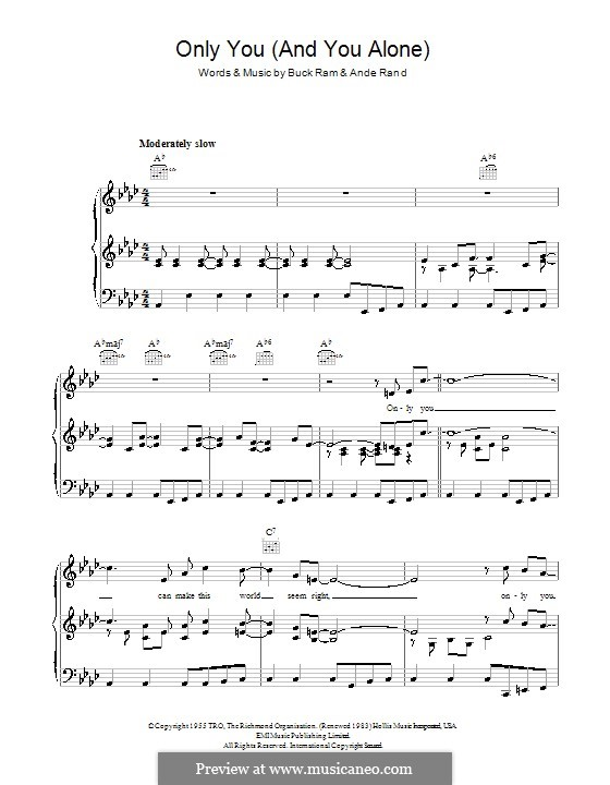 only you yazoo sheet music pdf