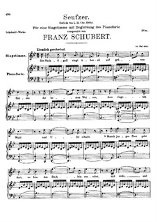 Seufzer (Sighs), D.198: Seufzer (Sighs) by Franz Schubert