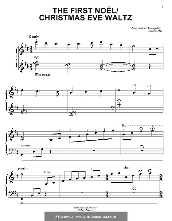 the first noel piano sheet music pdf easy