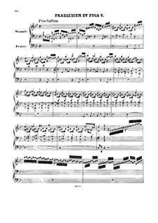 Prelude and Fugue No.5 in G Minor, BWV 535: Prelude and Fugue No.5 in G Minor by Johann Sebastian Bach
