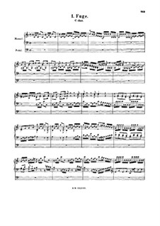 Fugue in C Major, BWV Anh.90: Fugue in C Major by Johann Sebastian Bach