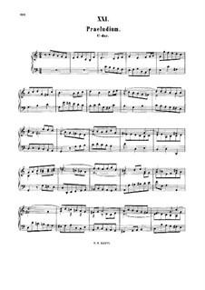 Prelude in C Major, BWV 943: For harpsichord by Johann Sebastian Bach