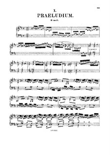 Prelude in B Minor, BWV 923: For harpsichord by Johann Sebastian Bach