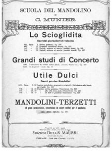 Mandolini-Terzetti, Op.230: Mandolini-Terzetti by Carlo Munier