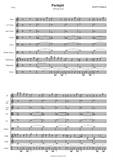 Purinjiti - an atmospheric piece for didgeridoo, flute, euphonium, sticks and strings: Purinjiti - an atmospheric piece for didgeridoo, flute, euphonium, sticks and strings by David W Solomons