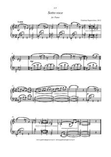Sotto voce, gk 284: Sotto voce by Giedrius Kuprevičius