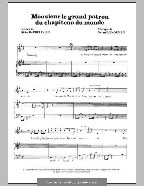 Monsieur Le Grand Patron Du Chapiteau Du Monde By G