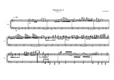 Jazz Partita No.3 for piano, MVWV 307: Jazz Partita No.3 for piano by Maurice Verheul
