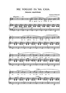 Me voglio fa 'na casa: F Major by Gaetano Donizetti