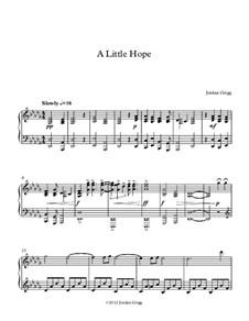 A Little Hope: A Little Hope by Jordan Grigg