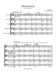 Skye boat song piano music
