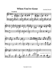 When You're Gone: When You're Gone by Jonathan Breach