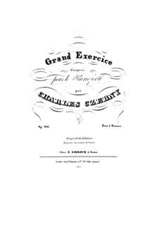 Grand Exercice, Op.364: Grand Exercice by Carl Czerny