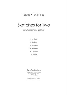Sketches for Two: Sketches for Two by Frank Wallace