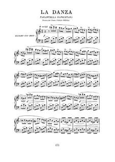 Tarantella Napoletana: For voice and piano (Italian and french texts) by Gioacchino Rossini