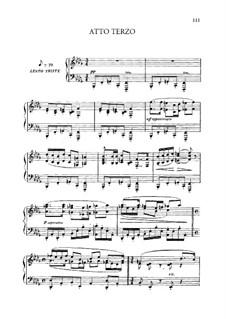 Edgar: Act III, piano-vocal score by Giacomo Puccini