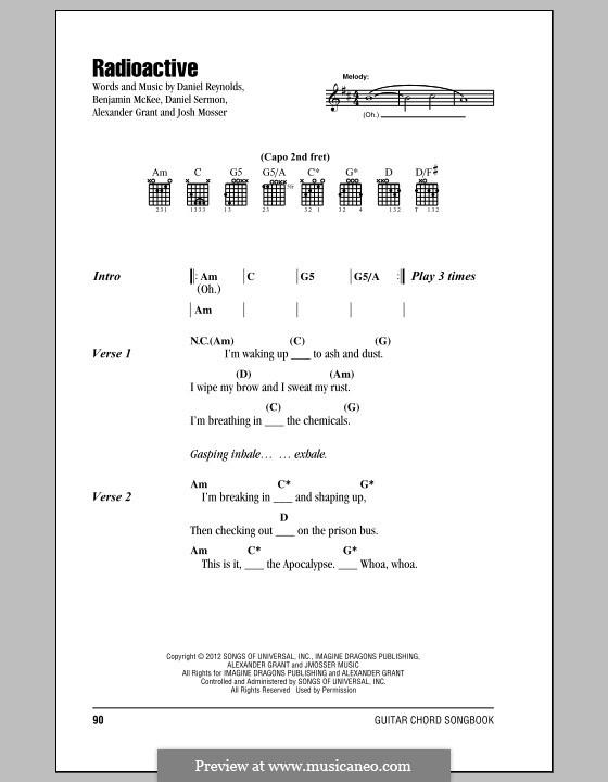 Ukulele : radioactive ukulele chords Radioactive Ukulele Chords ...