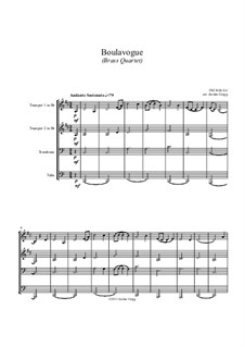 Boulavogue: For brass quartet by Patrick Joseph McCall
