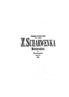 Master School of Piano Playing: Volume III by Xaver Scharwenka