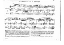 Prelude and Fugue No.14 in B Minor, BWV 544: Prelude by Johann Sebastian Bach