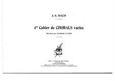 Schübler Chorales and Great Eighteen Chorale Preludes: Schübler Chorales and Great Eighteen Chorale Preludes by Johann Sebastian Bach