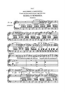 Attila: Act I. Arrangement for voices and piano by Giuseppe Verdi