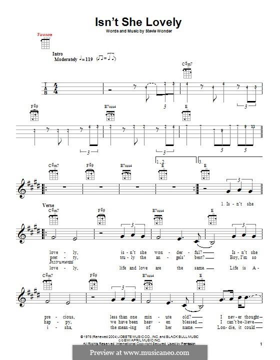 Amazing Isnt She Lovely Chords Inspiration - Basic Guitar Chords For ...