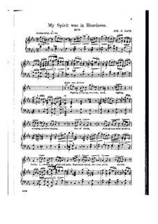 Ich hatte viel Bekümmernis, BWV 21: Sighing, Weeping, Sorrow, Need by Johann Sebastian Bach