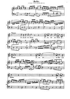 Uns ist ein Kind geboren, BWV 142: Jesu dir sei Dank... by Johann Sebastian Bach