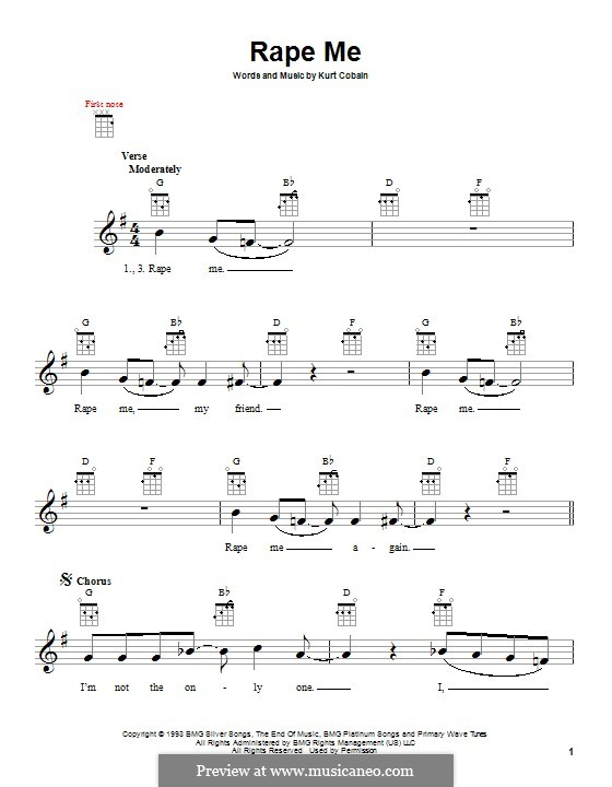 Ukulele : ukulele tabs nirvana Ukulele Tabs as well as Ukulele ...