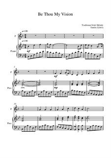 Be Thou My Vision: Score for two performers (in F) by folklore
