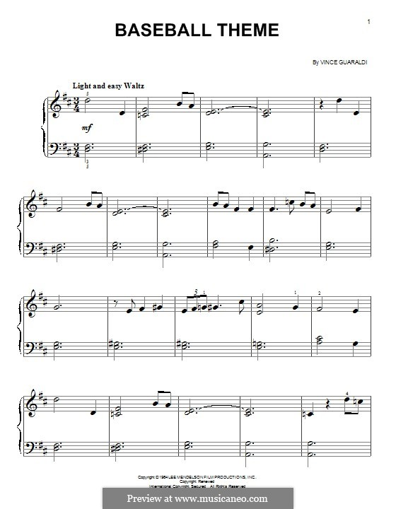charlie brown piano sheet music pdf