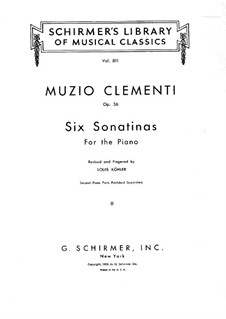 Complete set: For piano by Muzio Clementi