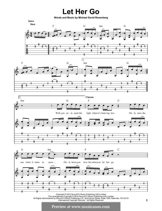 Guitar guitar chords of let her go : Guitar : guitar chords let her go Guitar Chords Let and Guitar ...