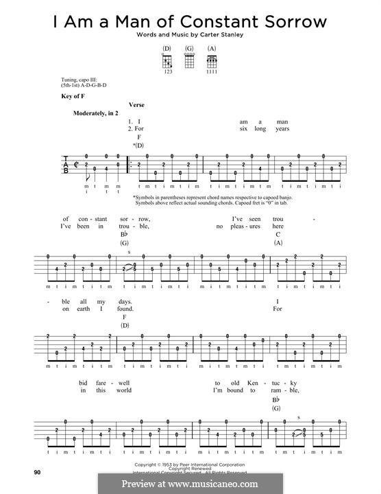 Banjo : banjo chords man of constant sorrow Banjo Chords and Banjo Chords Man Ofu201a Banjo Chords ...