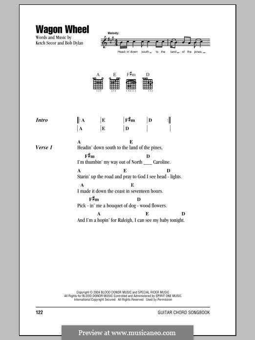 Violin wagon wheel violin tabs : Wagon Wheel Violin Sheet Music - wagon wheel ocms fiddle tutorial ...