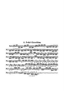 Pedal Exercise, BWV 598: Pedal Exercise by Johann Sebastian Bach