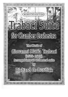 Suite, Op.226: Suite by Giovanni Maria Trabaci