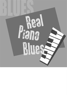Real piano blues: For piano by Fabio Gianni