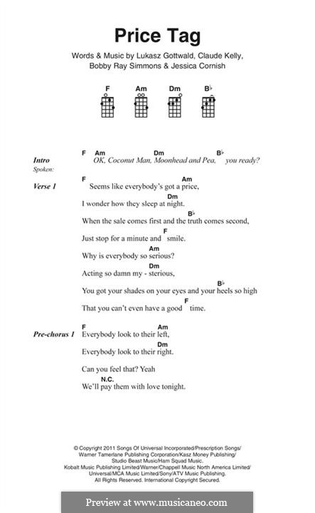 Xylophone xylophone chords of price tag : Ukulele : price tag ukulele chords Price Tag Ukulele or Price Tag ...
