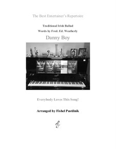 Danny Boy (Londonderry Air): For piano by folklore