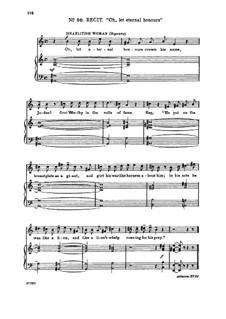 Judas Maccabaeus, HWV 63: From mighty kings he took the spoil. Recitative and Aria for soprano by Georg Friedrich Händel