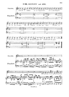 Solomon, HWV 67: How green our fertile pastures look! Recitative and Aria for alto/countertenor by Georg Friedrich Händel
