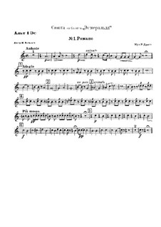 Suite from Ballet 'Esmeralda': No.1 Romance by Riccardo Drigo