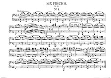 Six Pieces for Piano Four Hands, J.81-86 Op.10: Piece No.1 by Carl Maria von Weber