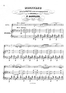 Nocturne in A Flat Major, Op.17: Nocturne in A Flat Major by Franz Doppler