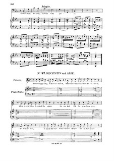 Solomon, HWV 67: Golden Columns, fair and bright. Recitative and Aria for bass by Georg Friedrich Händel