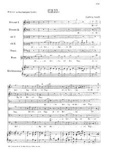 Also heilig ist der Tag : Für Stimmen und Klavier by Ludwig Senfl