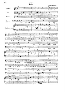 Der ehlich Stand ist billig g'nannt : Klavierauszug mit Singstimmen by Ludwig Senfl